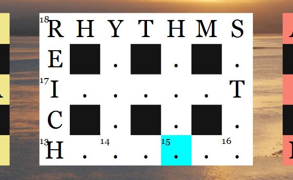 Blind Crossword 3D feature graphic