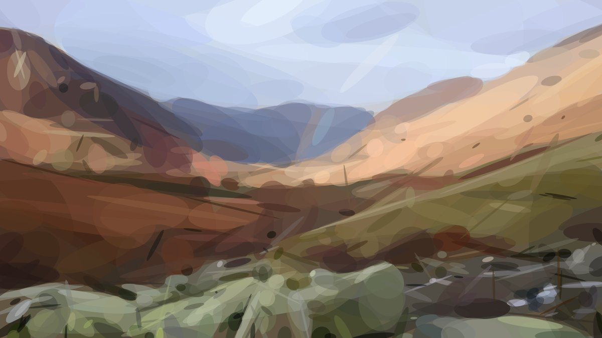 Borrowdale In Autumn - After Geometrization