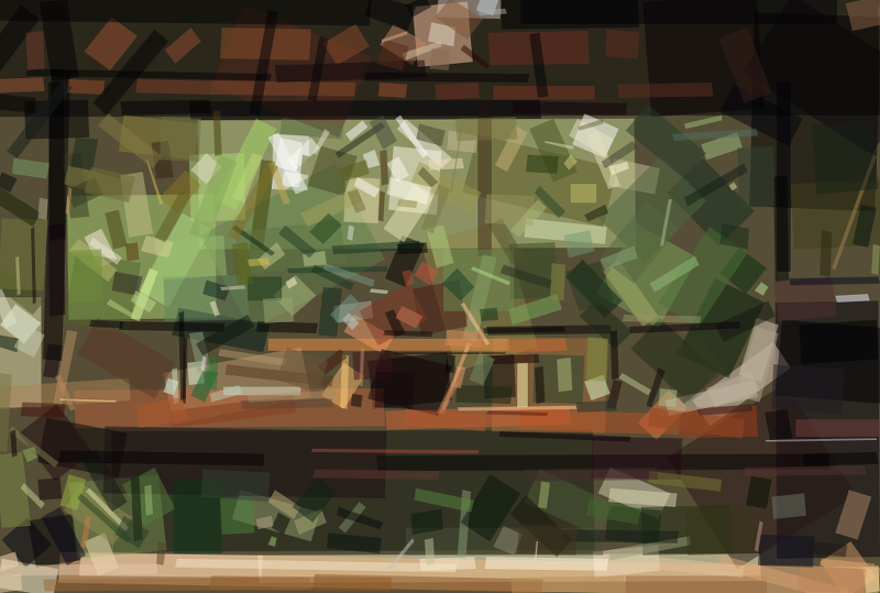 Man At Table - After Geometrization